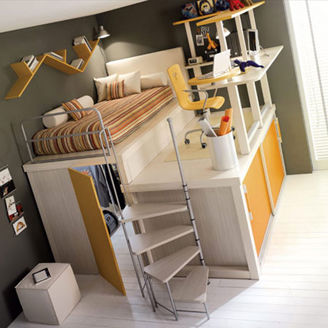 Picture of Futuristic Youth Bedroom Set