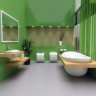 Picture of Modern Bathroom Set