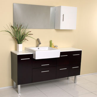 Picture of Clean Bathroom Sink Set