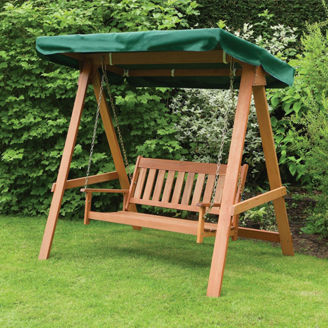 Picture of Wooden Garden Bench