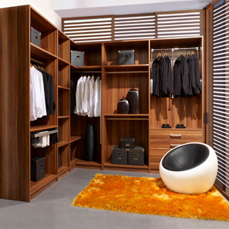 Picture of Modern Clothing Closet